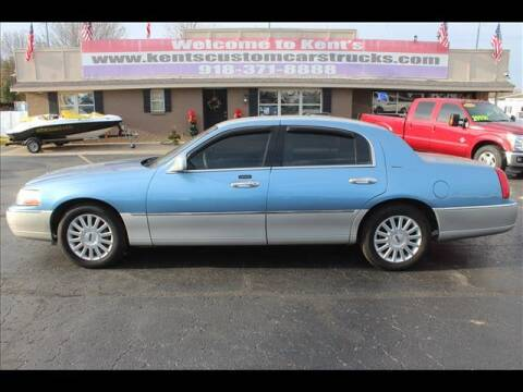2003 Lincoln Town Car for sale at Kents Custom Cars and Trucks in Collinsville OK