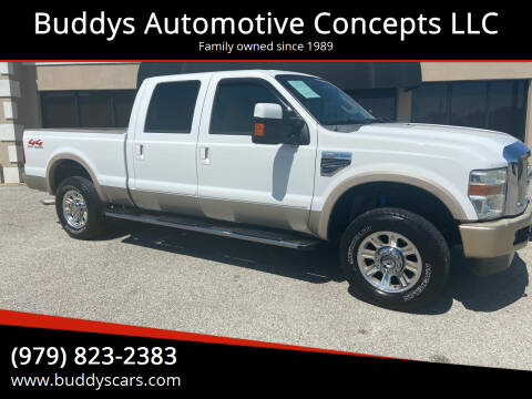 2008 Ford F-250 Super Duty for sale at Buddys Automotive Concepts LLC in Bryan TX