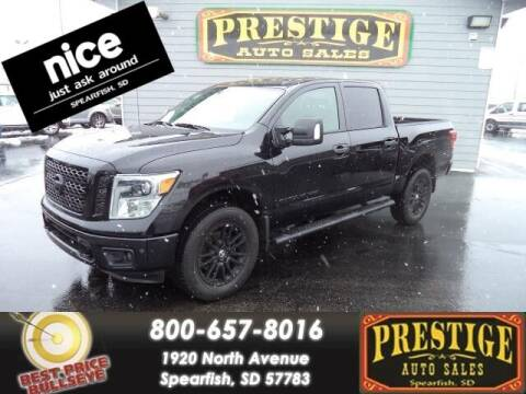 2019 Nissan Titan for sale at PRESTIGE AUTO SALES in Spearfish SD