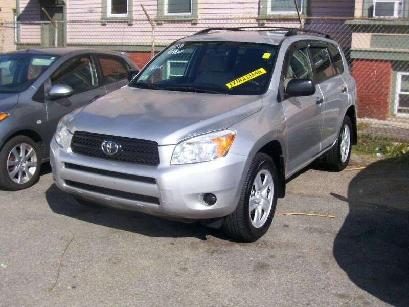 2008 Toyota RAV4 for sale at Dambra Auto Sales in Providence RI