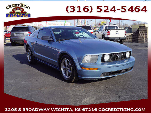 2006 Ford Mustang for sale at Credit King Auto Sales in Wichita KS