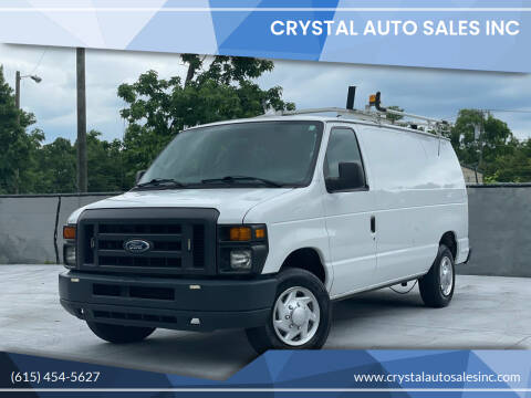 2014 Ford E-Series Cargo for sale at Crystal Auto Sales Inc in Nashville TN