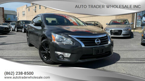 2014 Nissan Altima for sale at Auto Trader Wholesale Inc in Saddle Brook NJ