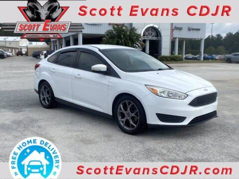 2017 Ford Focus for sale at SCOTT EVANS CHRYSLER DODGE in Carrollton GA