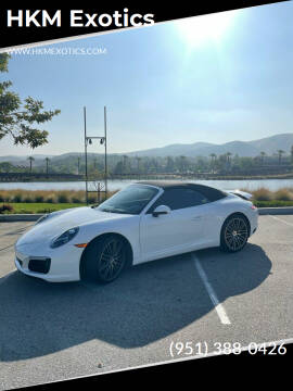 2018 Porsche 911 for sale at HKM Exotics in Corona CA