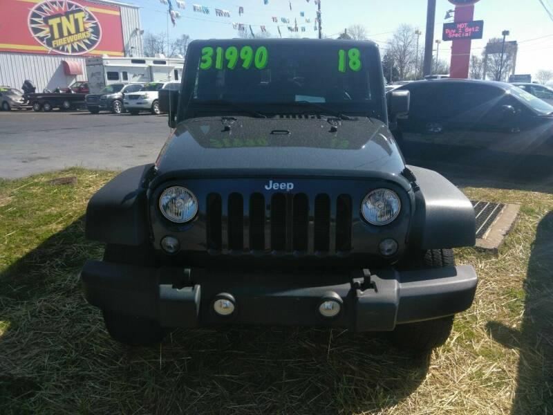 2018 Jeep Wrangler Unlimited for sale at AUTOPLEX 528 LLC in Huntsville AL