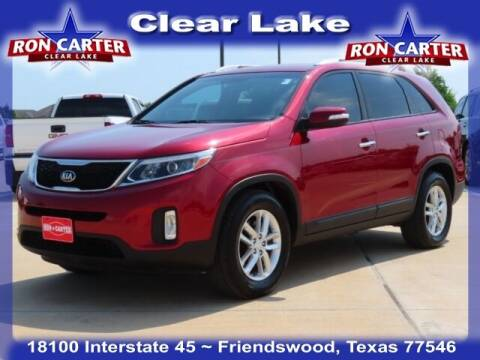 2014 Kia Sorento for sale at Ron Carter  Clear Lake Used Cars in Houston TX