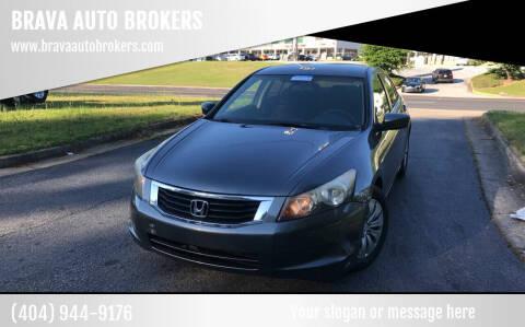 2010 Honda Accord for sale at BRAVA AUTO BROKERS LLC in Clarkston GA