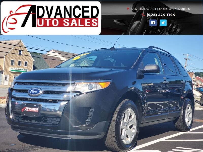 2014 Ford Edge for sale at Advanced Auto Sales in Dracut MA