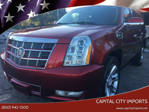 2013 Cadillac Escalade Hybrid for sale at Capital City Imports in Tallahassee FL