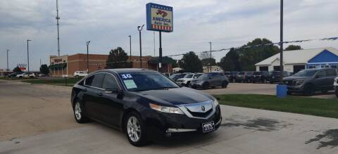 2010 Acura TL for sale at America Auto Inc in South Sioux City NE