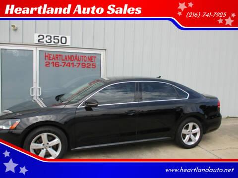 2012 Volkswagen Passat for sale at Heartland Auto Sales in Medina OH