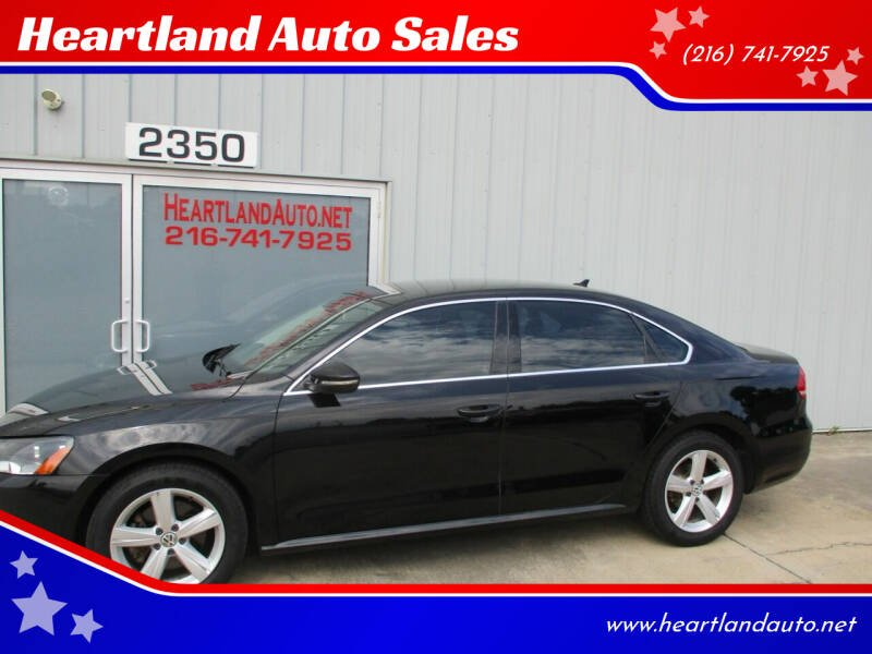 2012 Volkswagen Passat for sale at Heartland Auto Sales in Medina OH