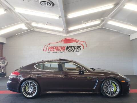 2014 Porsche Panamera for sale at Premium Motors in Villa Park IL