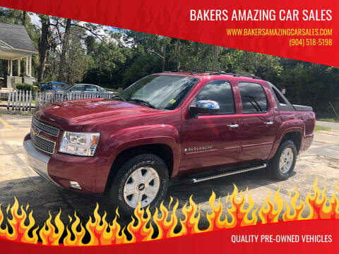 2007 Chevrolet Avalanche for sale at Bakers Amazing Car Sales in Jacksonville FL