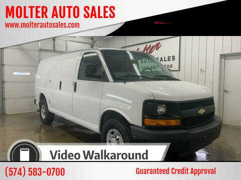 2013 Chevrolet Express Cargo for sale at MOLTER AUTO SALES in Monticello IN