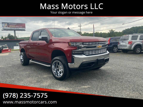 2020 Chevrolet Silverado 1500 for sale at Mass Motors LLC in Worcester MA