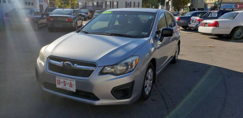 2012 Subaru Impreza for sale at Union Street Auto in Manchester NH
