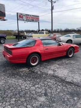 1988 Pontiac Firebird for sale at Fair & Friendly Car & Truck Sales in Foristell MO