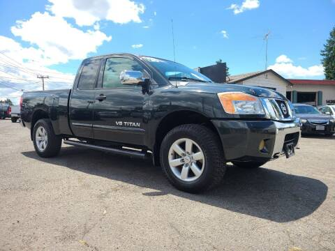 2008 Nissan Titan for sale at Universal Auto Sales in Salem OR