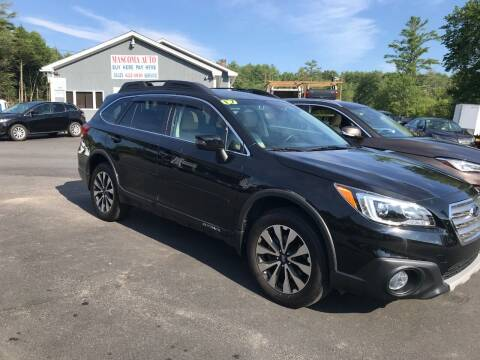 2017 Subaru Outback for sale at Mascoma Auto INC in Canaan NH