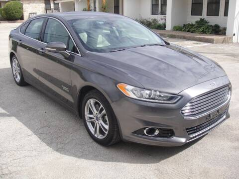 2016 Ford Fusion Energi for sale at Coleman Auto Group in Austin TX