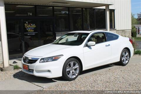 2011 Honda Accord for sale at Corvette Mike New England in Carver MA