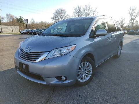 2017 Toyota Sienna for sale at Cruisin' Auto Sales in Madison IN