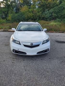 2013 Acura TL for sale at EBN Auto Sales in Lowell MA