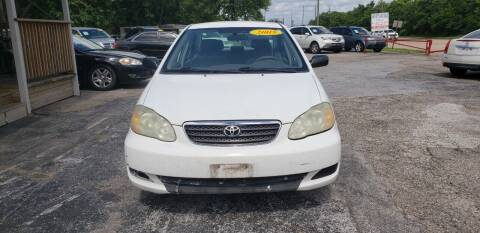 2005 Toyota Corolla for sale at Anthony's Auto Sales of Texas, LLC in La Porte TX