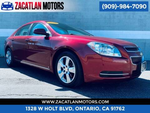 2010 Chevrolet Malibu for sale at Ontario Auto Square in Ontario CA