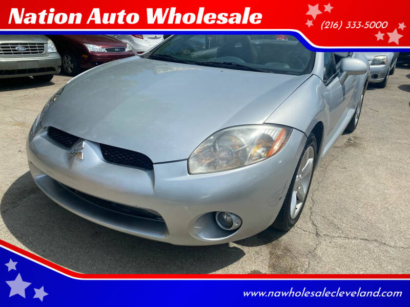 2008 Mitsubishi Eclipse Spyder for sale at Nation Auto Wholesale in Cleveland OH