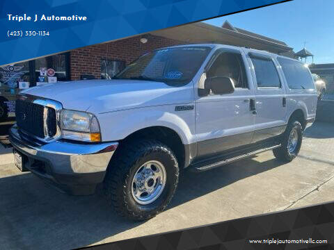2003 Ford Excursion for sale at Triple J Automotive in Erwin TN