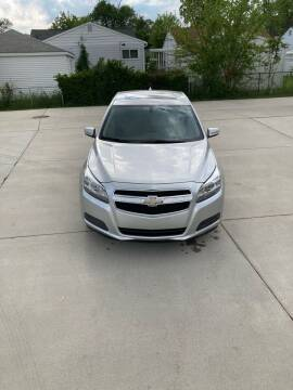 2013 Chevrolet Malibu for sale at Suburban Auto Sales LLC in Madison Heights MI