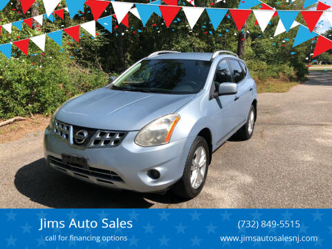 2013 Nissan Rogue for sale at Jims Auto Sales in Lakehurst NJ