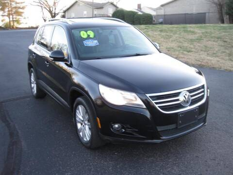 2009 Volkswagen Tiguan for sale at Euro Asian Cars in Knoxville TN