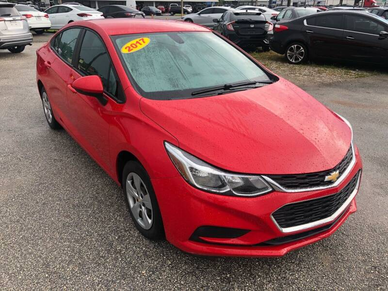 2017 Chevrolet Cruze for sale at Marvin Motors in Kissimmee FL