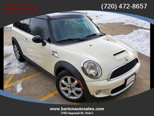 2010 MINI Cooper Clubman for sale at Barton Auto Sales in Longmont CO