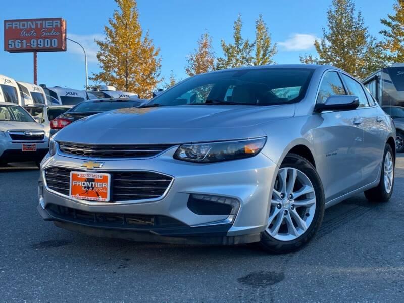 2018 Chevrolet Malibu for sale at Frontier Auto & RV Sales in Anchorage AK