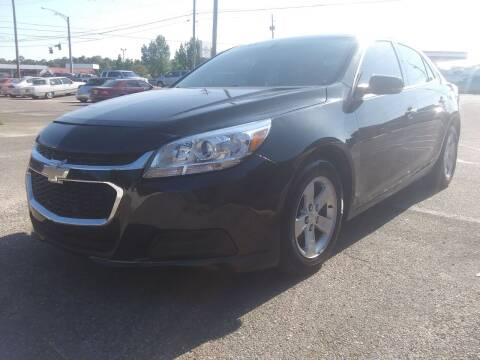 2015 Chevrolet Malibu for sale at Best Buy Autos in Mobile AL