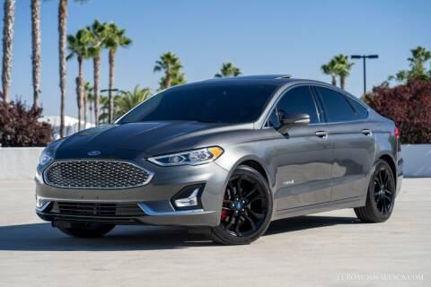 2019 Ford Fusion Hybrid for sale at Euro Auto Sales in Santa Clara CA