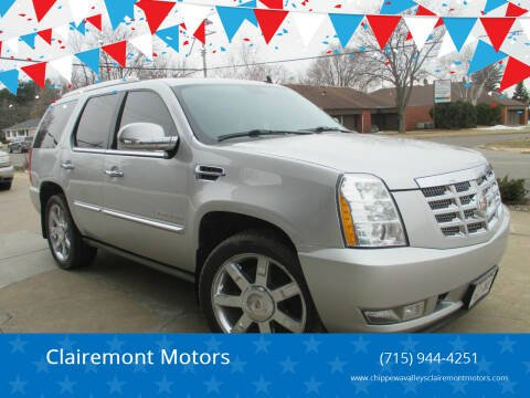 2011 Cadillac Escalade for sale at Clairemont Motors in Eau Claire WI