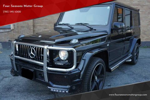 2012 Mercedes-Benz G-Class for sale at Four Seasons Motor Group in Swampscott MA