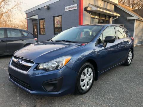 2012 Subaru Impreza for sale at Auto Kraft in Agawam MA