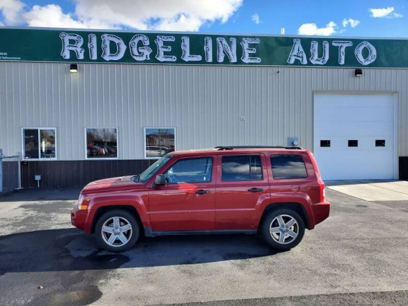 2008 Jeep Patriot for sale at RIDGELINE AUTO in Chubbuck ID