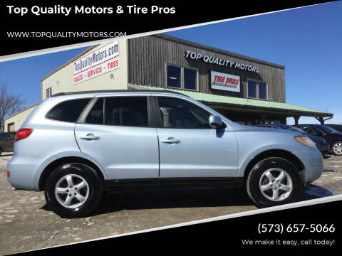2008 Hyundai Santa Fe for sale at Top Quality Motors & Tire Pros in Ashland MO