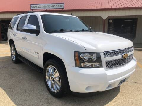 2013 Chevrolet Tahoe for sale at PITTMAN MOTOR CO in Lindale TX