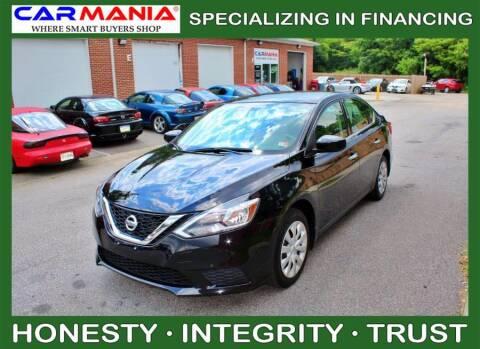 2017 Nissan Sentra for sale at CARMANIA LLC in Chesapeake VA