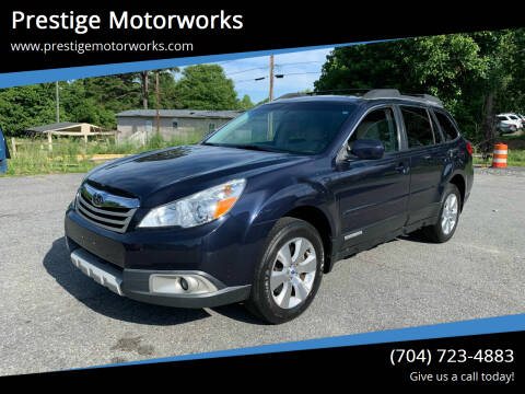 2012 Subaru Outback for sale at Prestige Motorworks in Concord NC