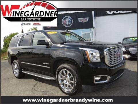 2017 GMC Yukon for sale at Winegardner Auto Sales in Prince Frederick MD
